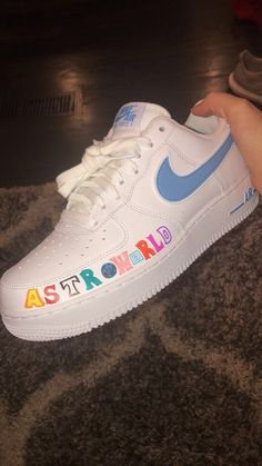 astroworld custom air force 1 - - astroworld custom air force 1 Source by vers. - astroworld custom air force 1 – – astroworld custom air force 1 Source by versace_i - Nike Air Force, Tenis Air Force, Nike Shoes Air Force, Travis Scott Shoes, Sneakers Fashion, Shoes Sneakers, Adidas Shoes, Adidas Outfit, Adidas Nmd