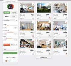 Real Estate Web App Interface, by Lukas Bugla