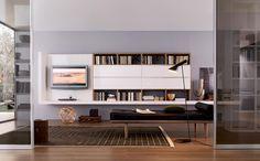 Mueble salon con Libreria