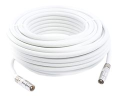 From 6.99 Smedz 5 M Fully Assembled Digital Tv Aerial Cable Extension Kit With Male - Male Connections - White