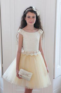 Girls Designer Dresses by David Charles. Spring Summer 2015. 6yrs to 16yrs.