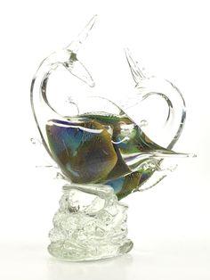 VENETIAN MURANO GLASS BIRD SCULPTURE Fish Sculpture, Sculptures, State Of Arizona, Luxury Decor, Glass Birds, Art Auction, Murano Glass, Asian Art, Venetian