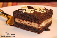 En cuanto tengáis una ocasión en la que preparar un pastel o tarta para una celebración, os proponemos que no dejéis escapar esta receta de tarta de chocolate y mascarpone, incluso os recomendamos que busquéis la ocasión cuanto antes para probar esta delicia, rica hasta decir basta. Además, es una tarta fácil de hacer, se puede decir que su elaboración lleva muy poco tiempo, pero lo mejor es cuando se degusta, una voz interior te dice que nunca más volverás a comprar un pastel. En esta… Choco Chocolate, Chocolate Cheesecake, Chocolate Recipes, Köstliche Desserts, Delicious Desserts, Dessert Recipes, Cakes And More, Cheesecake Recipes, Sweet Recipes
