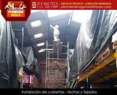 Instalación de cubiertas, techos y tejados