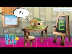 Türkçe Alfabe'deki sesli harfleri nesnelerle öğreniyoruz. İkinci ders.