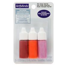 Glycerin Soap Color by ArtMinds™, Warm Colors