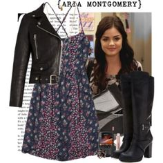 Look Inspired in Aria Montgomery