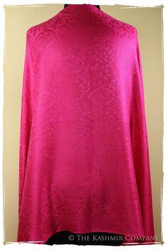 The Pretty in Pink Silk Scarf / Shawl