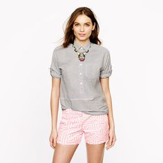 J.Crew - Tiki short.  Just saw these in-store and quality was so nice.  Didn't have my size though!