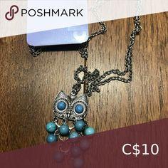Boho Style Owl Beaded Necklace Brand New Claire's Jewelry Necklaces Candy Necklaces, Jewelry Necklaces, Black Necklace, Beaded Necklace, Pink Basketball, Cross Choker, Layered Chokers, Triangle Necklace, Rhinestone Choker