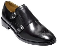 $258, Cole Haan Cambridge Double Monk Strap Shoe. Sold by Nordstrom. Click for more info: https://lookastic.com/men/shop_items/299715/redirect