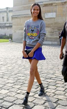 fab model off duty look