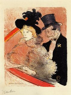 Henri de Toulouse-Lautrec At The Concert 1896