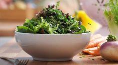 Comienza el camino a una versión más #saludable de ti mismo aprendiendo a hacer deliciosas y súper sanas #ensaladas