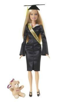 """Barbie Graduation Day 2007 by MATTEL. $9.75. Graduation 2007 Doll. Made in Indonesia. About 11.5"""" Tall. This 2007 Graduation Barbie Doll must have item for Barbie collectors; it can also make a great graduation gift for people who graduated in 2007."""