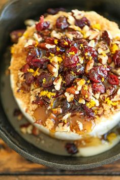 Cranberry Pecan Baked Brie - LOVE this idea!