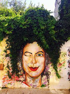 Bozcaada - Türkiye Land Art, Outdoor Wall Paint, Pop Art, Street Installation, Clever Kids, Black Women Art, Colorful Garden, Outdoor Art, Street Artists