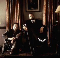 Mickey Rourke and De Niro in Angel Heart