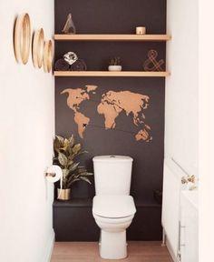 Toilet paper holder / nice butt / wooden box / bathroom storage / toilet box / farmh - home accessoriesToilet paper holder / nice butt / wooden box / bathroom storage / toilet box / farmhQuick and Easy Small Bathroom Decorating Tips Decor, Small Toilet Room, Deco, Toilet Decoration, Bathroom Ornaments, Toilet, Bathroom Design, Bathroom Decor, Downstairs Toilet