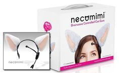 Necomimi – Brainwave controlled cat ears – Japanese Gifts USA