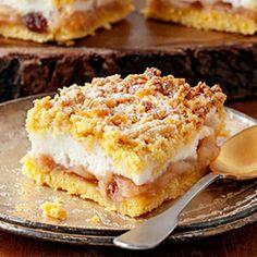 Szarlotka z budyniową pianką Apple Pie, Recipes, Cakes, Kitchens, Apple Tea Cake, Cake Makers, Kuchen, Cake, Torte