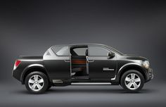 2006 Dodge Rampage Concept Truck: Dodge Rampage Truck with the Rear Door Open