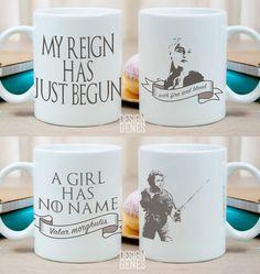 Game of Thrones mugs Game of Thrones gift set Daenerys mug