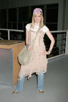 "The time she wore some of Stevie Nicks' old ""Gypsy""-era cast-offs:"