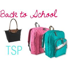 Back to School:Bags