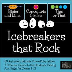 Icebreakers that Rock! 3-Game Bundle$10