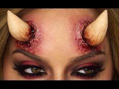 How To Make Devil Horns - DIY | Shonagh Scott | ShowMe MakeUp - YouTube