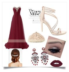 """""""#prom"""" by amina-delic321 ❤ liked on Polyvore featuring L.A. Girl, Steve Madden, Jon Richard and Santi"""