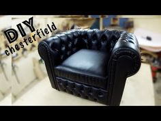 Making your own Chesterfield chair