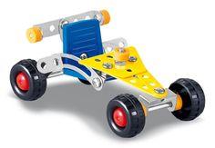 Jogo de montar metal carro de kart. ClassicToys