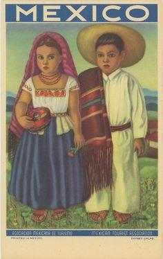 Mexican Tourist Association postcard