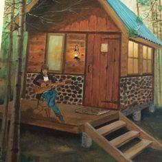 My Home  Canvas 50x70 cm  Oil Paint By : Jaz Blues