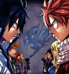 Fairy Tail Civil War. What's your team?