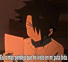 5 Anime, Anime Chibi, Otaku Anime, Kawaii Anime, Funny Spanish Memes, Spanish Humor, Meme Faces, Funny Faces, Mexican Humor