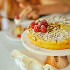 Ricottový koláč - Fitness recepty - Zdravé recepty, vaření, pečení, online kuchařka Ricotta, Camembert Cheese, Pancakes, Breakfast, Fitness, Morning Coffee, Pancake, Crepes
