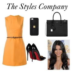 """""""The Styles Company"""" by felicity151 on Polyvore featuring Valentino, Yves Saint Laurent, Hervé Léger and Christian Louboutin"""
