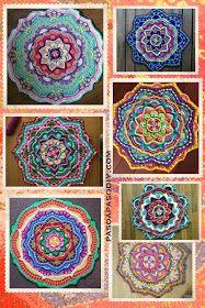 Mandala al Crochet - DIY | Paso a Paso Crochet Gratis, Crochet Diy, Crochet Home, Crochet Necklace, Blanket, Ideas, Crochet Dreamcatcher, Crochet Mandala, Wool Yarn