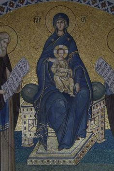 Sacred Art, Virgin Mary, Our Lady, Mosaic Art, Art And Architecture, Christianity, Spirituality, Child, Poses