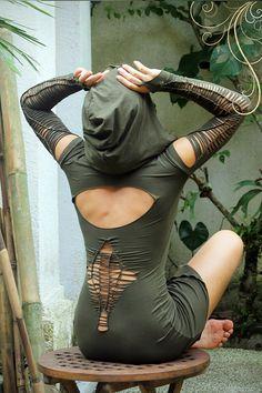 Fairy tunic dress. Burning Man Festival doof by LeelaCreationsBali