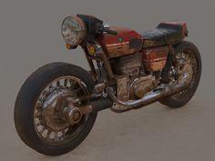 ArtStation - Bike concept, Helio Frazao