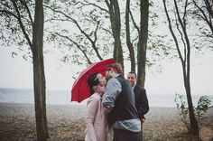 Rainy Wedding Day Golden Gardens OneButton Photography