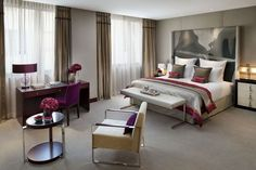 Mandarin Oriental Paris by Wilmotte & Associés S.A. | See more inspiring images for home and hotel decor here http://www.delightfull.eu/en/all-products.php