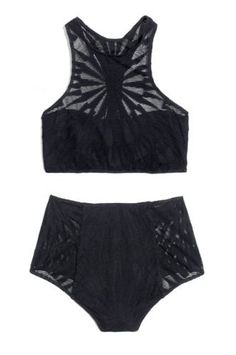 20 Common Bikini Gripes — We Solved 'Em...       If your bikini is always coming untied...       Forgo strings and hooks altogether. Opt for swim pieces you can slip on instead of tying or clasping.  Mara Hoffman Jacquard Racerback Bikini Top, $110, available at Madewell; Mara Hoffman Jacquard High-Waisted Bikini Bottom, $104, available at Madewell.