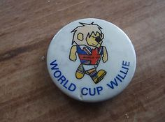1966 #world cup willie #england metal badge in excellent #condition,  View more on the LINK: http://www.zeppy.io/product/gb/2/401134482936/