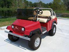 Jeep Golf Cart