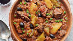 Lammegryte med appelsin Fish And Meat, Ciabatta, Wok, Pot Roast, Pesto, Lamb, Crockpot, Main Dishes, Curry